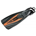 Scuba Diving Adjustable Fins Thailand - Aqua Lung Express Adjustable Fins Orange